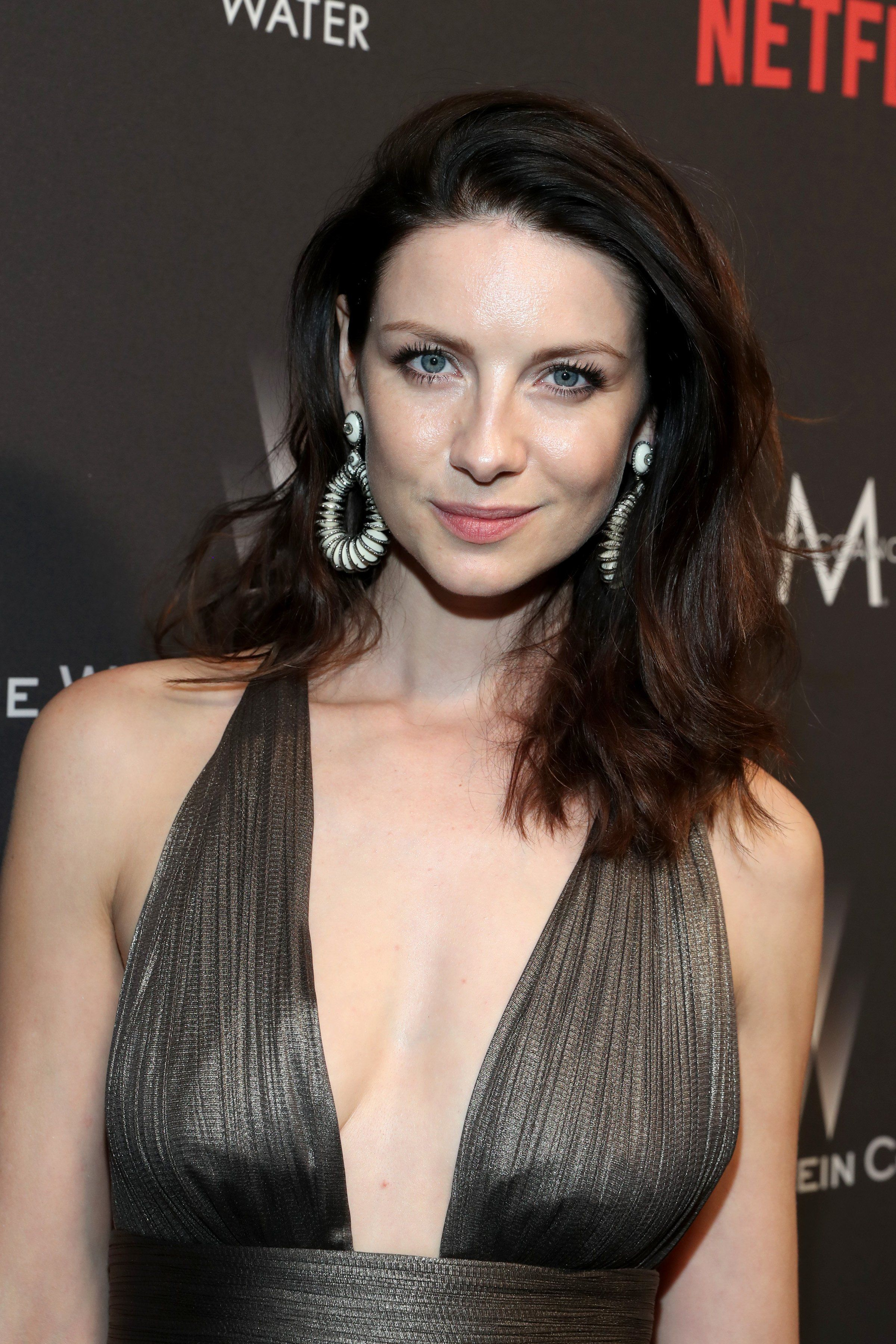 Caitriona balfe outlander at the golden globes after party