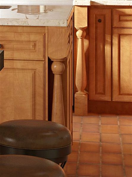 Base Turn Post Bcd Kitchen Community Kitchen Cabinet