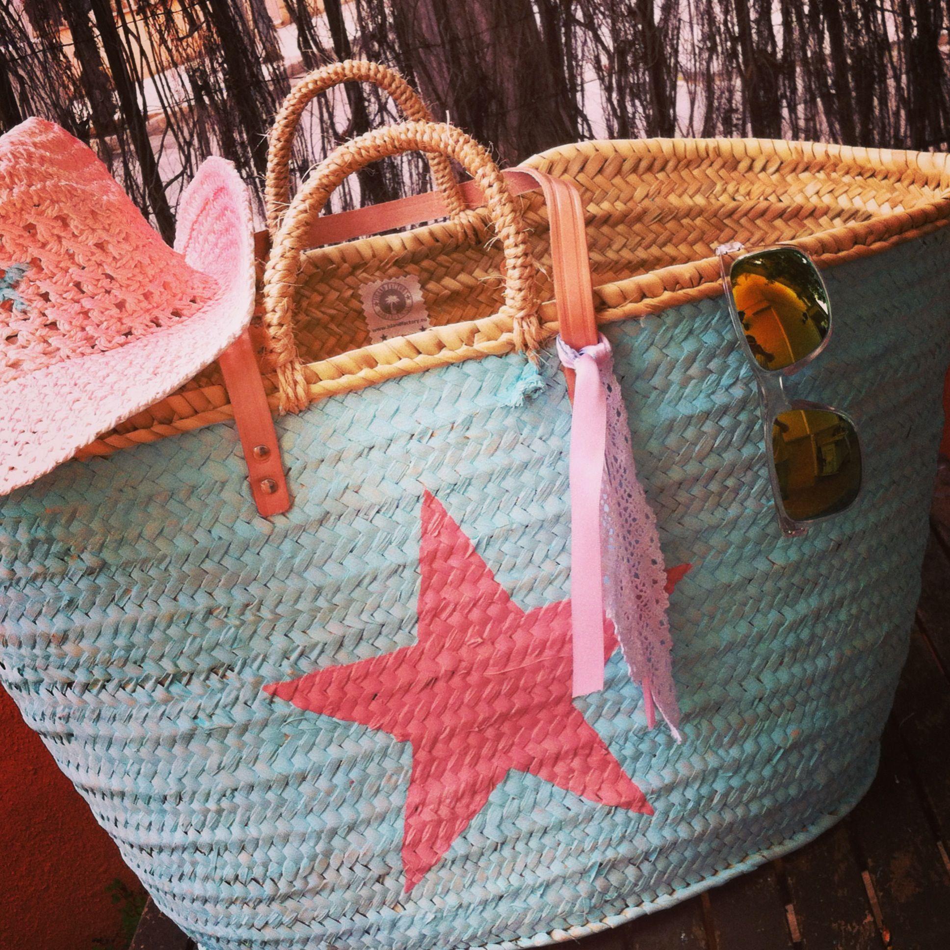 capazos pintados strandtasche capazo pinterest bag custom bags and. Black Bedroom Furniture Sets. Home Design Ideas