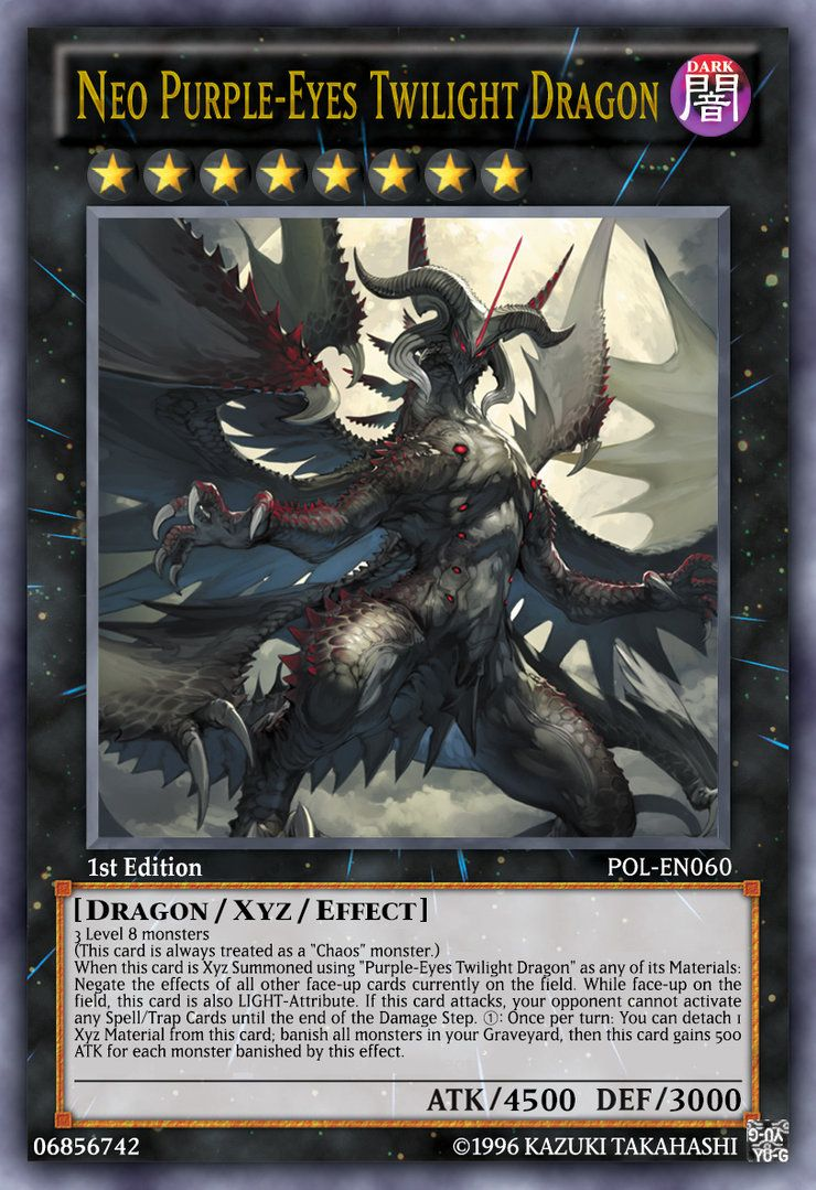 Neo purple eyes twilight dragon by lightkeyblademaster on for Sideboard yugioh