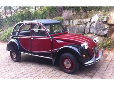 2cv6 charleston rouge delage neuve ami de la 2cv molsheim 2cv citro n pinterest cars. Black Bedroom Furniture Sets. Home Design Ideas