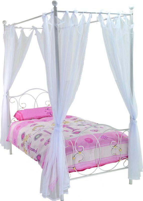 Best Ballet Single Four Poster Bed Bed Four Poster Bed 400 x 300