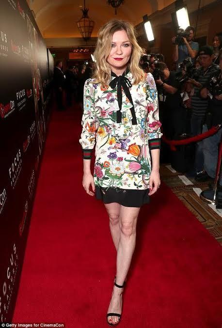 Who-wore-it-better-Kirsten-dunst-vs-cardi-b-in-gucci-floral-snake-print-dress-3.jpg 458×677 pixels