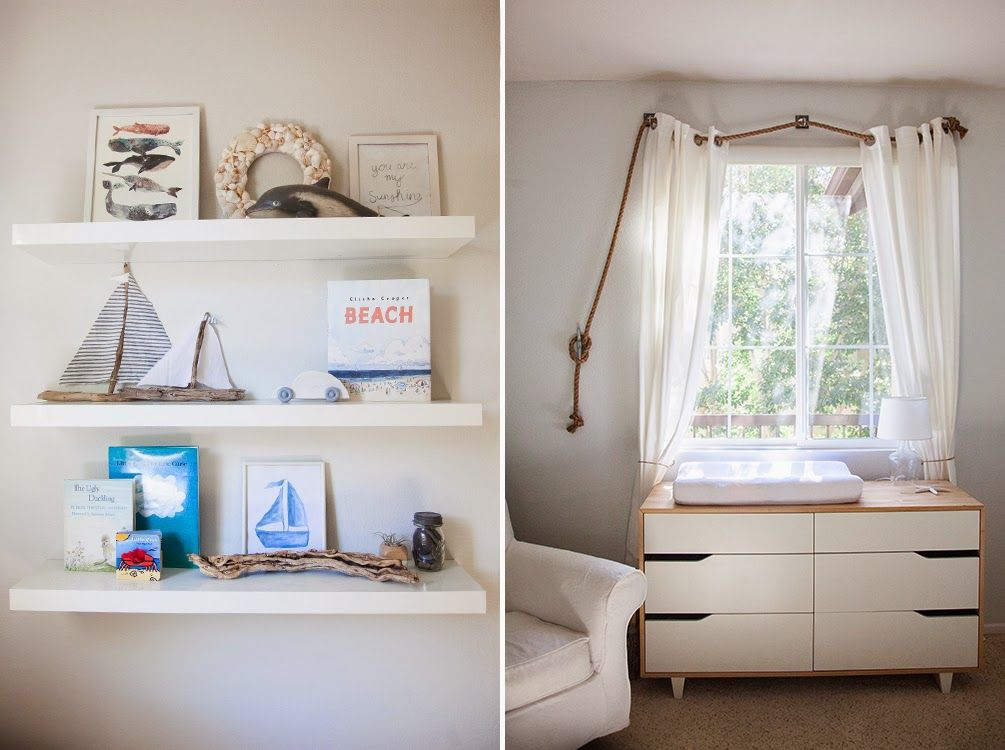 CB and J a peek at oliver\u0027s room Bambino Pinterest Tringle