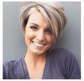 17 More Fresh Layered Short Hairstyles for Round Faces  crazyforus -  17 More Fresh Layered Short Hairstyles for Round Faces  crazyforus  - #crazyforus #Faces #Fresh #Hairstyles #Layered #Short #ShortHairstyleseasy #ShortHairstylesfine #ShortHairstylesforroundfaces #ShortHairstylesforthickhair #ShortHairstylesforwomen #ShortHairstylesover40 #ShortHairstylesover50 #ShortHairstyleswomen #easyshorthairstyles