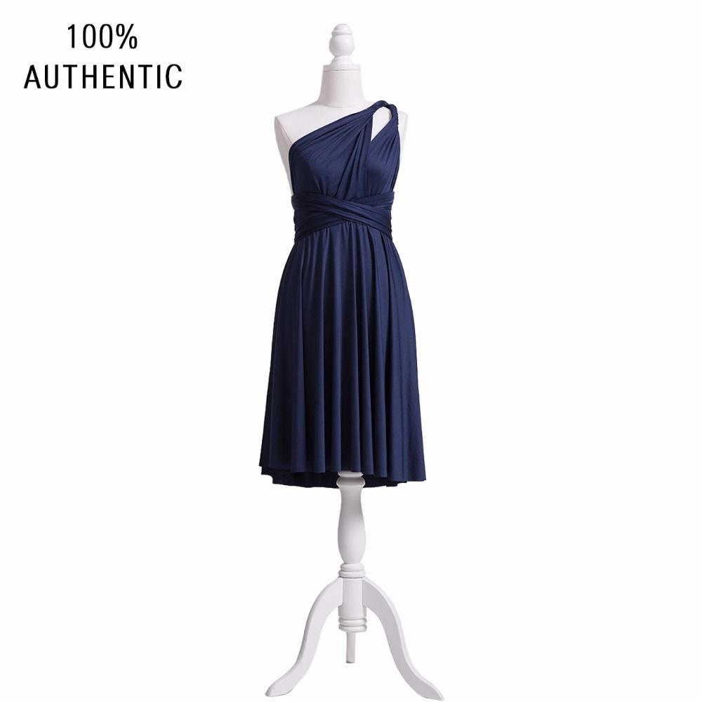 Navy blue bridesmaid dress infinu bridesmaid dress infinity