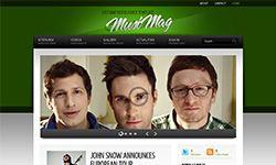 Musimag Green Soratemplates Blogger Templates Free Blogger Templates Templates