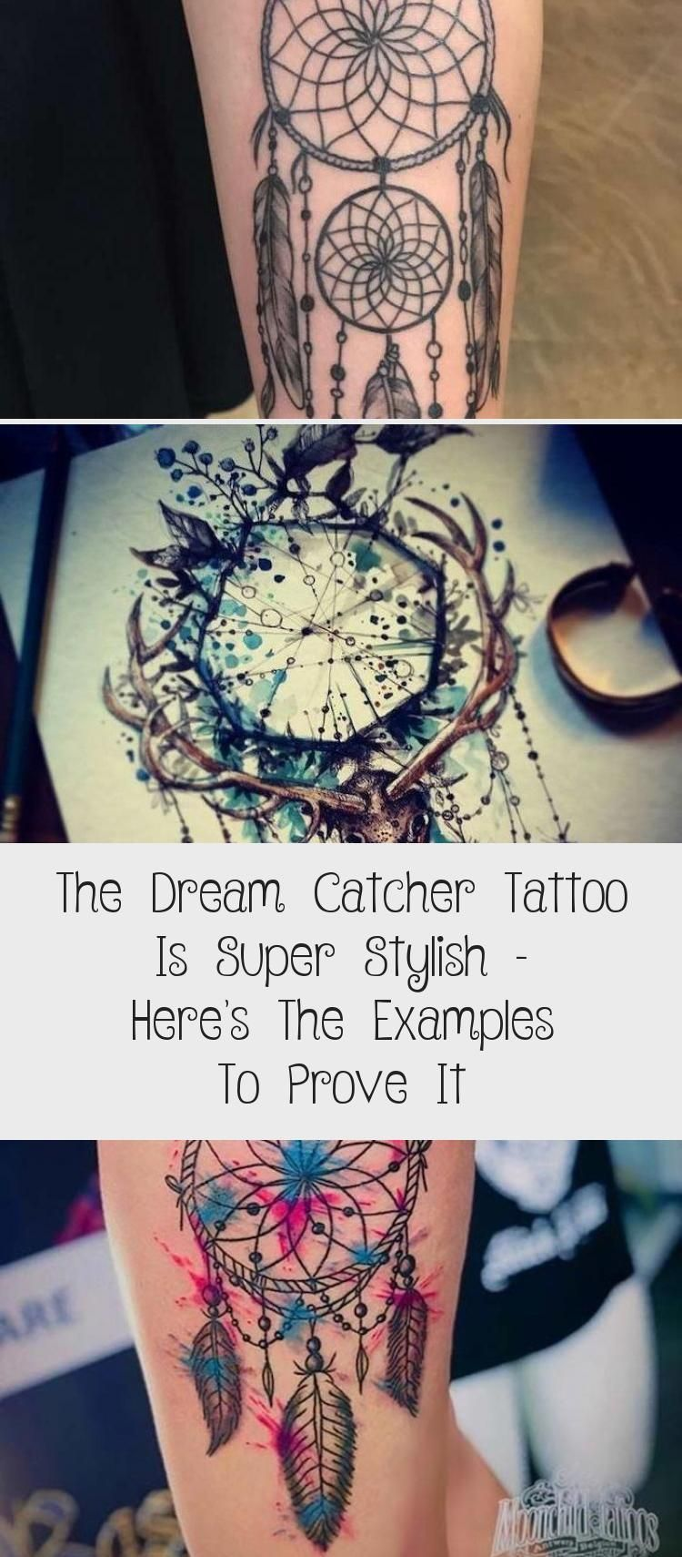 There Are So Many Different Tattoo Designs Out There But It Seems Like The Dream Catcher Tattoo Is One Of The Most Popular Ones Here A Dream Catcher Tattoo Dream