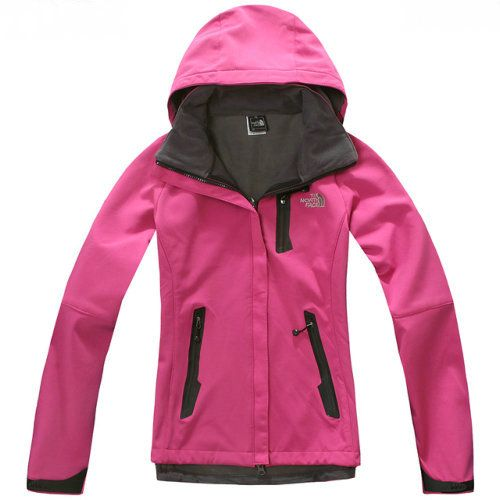 Womens North Face Windstopper Jacket Pink Dazzle [North Face319] - $86.96 : North  Face