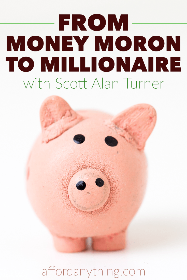 A self-described 'money moron,' Scott Alan Turner was able to overcome his financial mistakes and become financially independent at the age of 35. He went from being in all sorts of debt and making $600 car payments to completely debt free. Find out how he did it here.