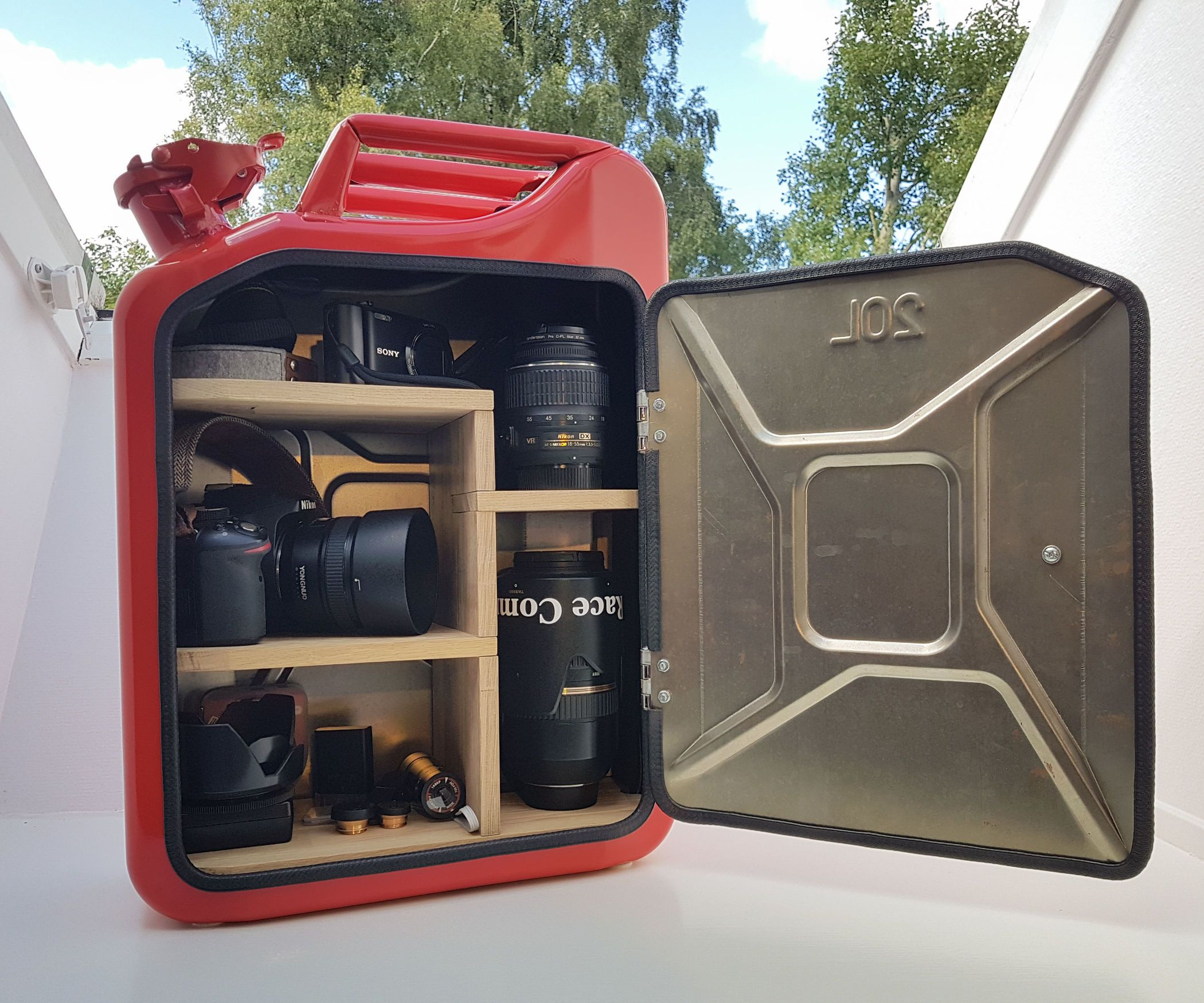 Jerry Can Cabinet   Liquor cabinet and Craft