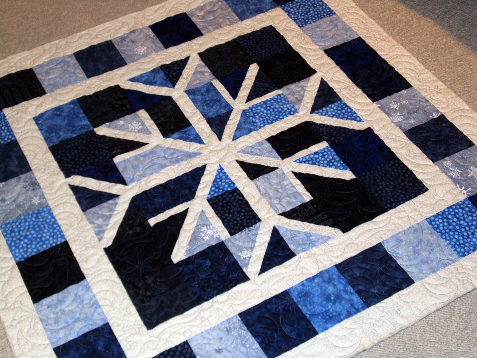 Gen X Quilters - Quilt Inspiration | Quilting Tutorials & Patterns | Connect: Snowflake Quilt: Brrr! Baby It's Cold Outside