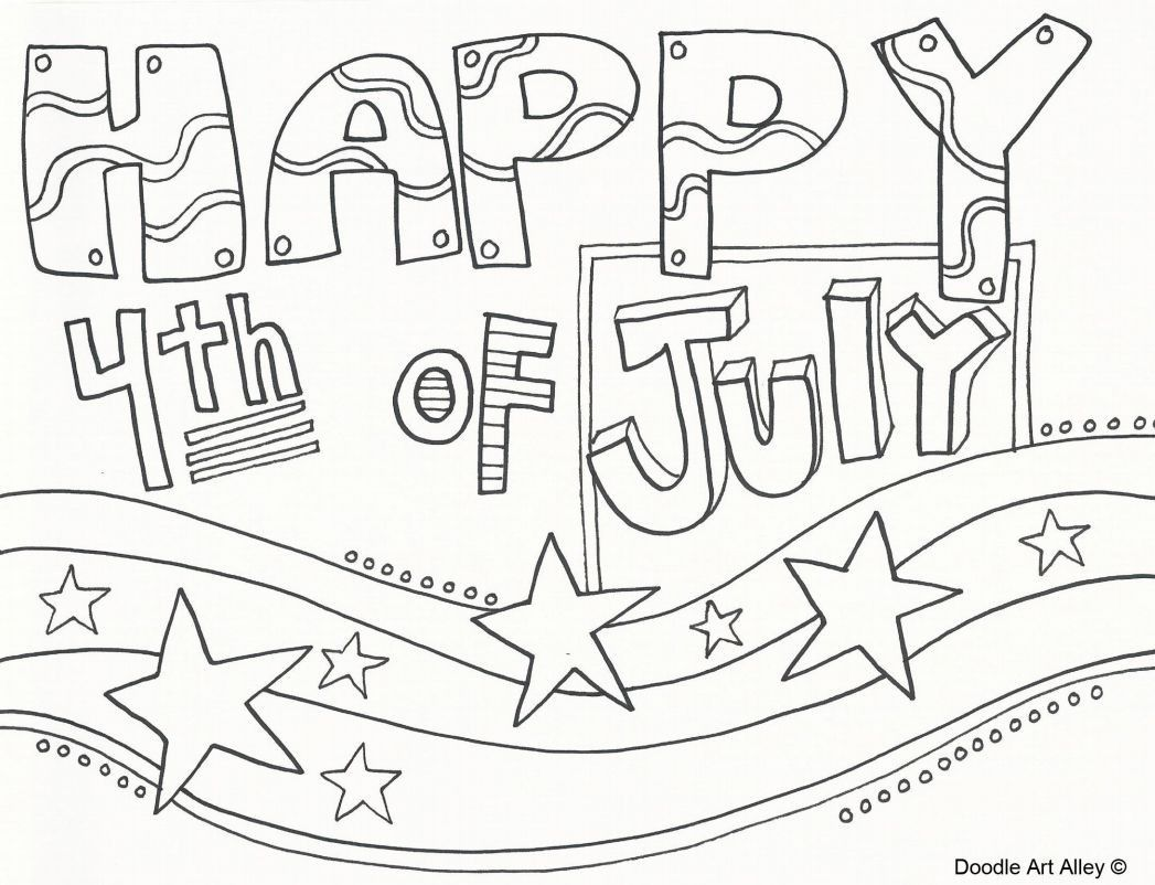 Inspirational Fourth Of July Coloring Sheets