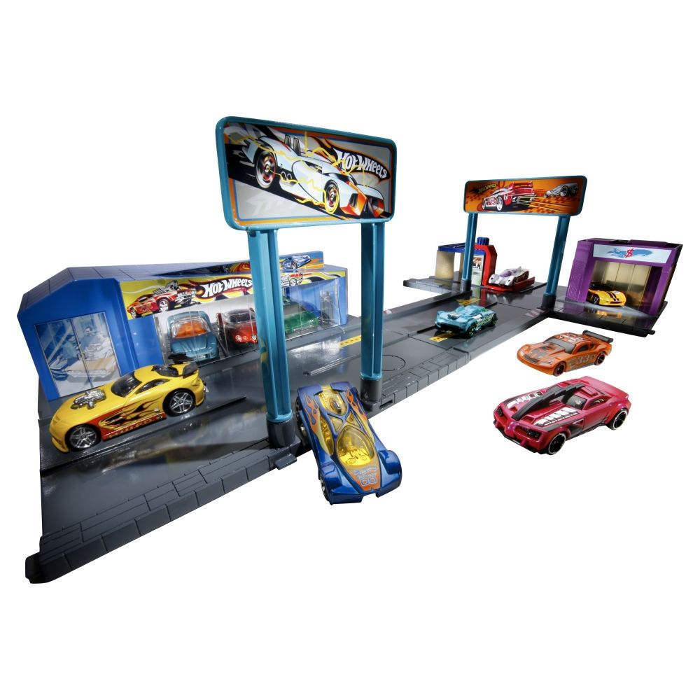 Hot Wheels City Sets Speedy S Dealership Play Set Shop Mattel Com Mattel Hot Wheels Hot Wheels Hot Wheels Cars