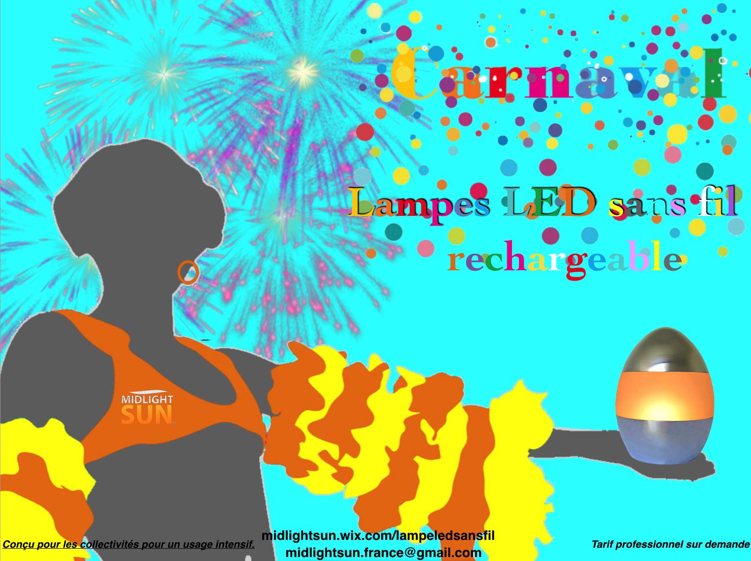 Mettez de la couleur sur vos tables terrasses… avec nos lampes