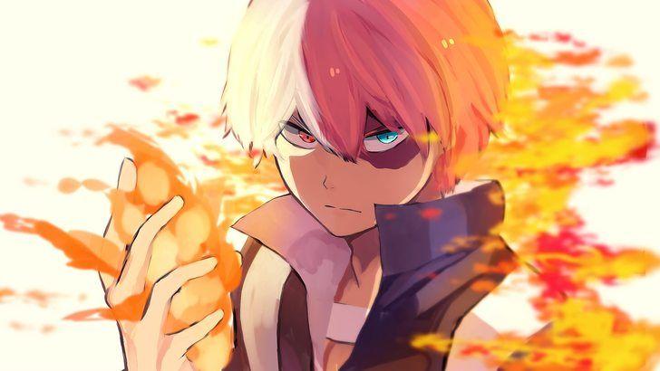 Shoto Todoroki My Hero Academia Anime Wallpaper  1cae7cd09af