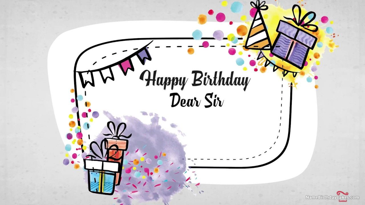 Happy Birthday Sir Best Wishes For You Happy Birthday Teacher Happy Birthday Sir Wishes Happy Birthday Honey
