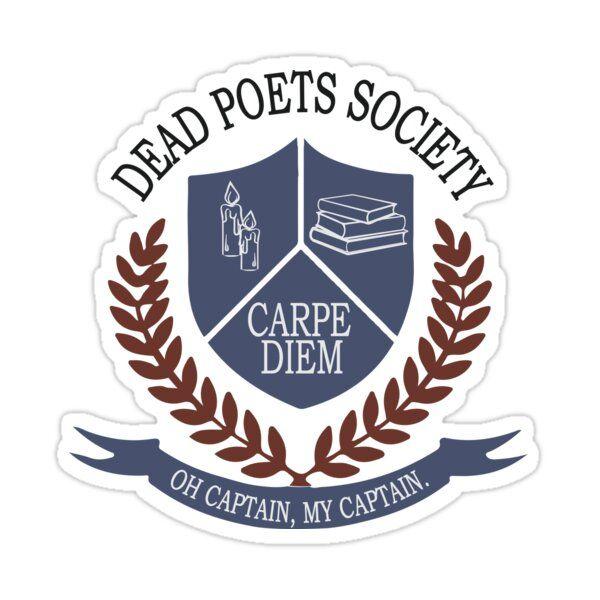 Dead Poets Society Sticker by ElysianArt
