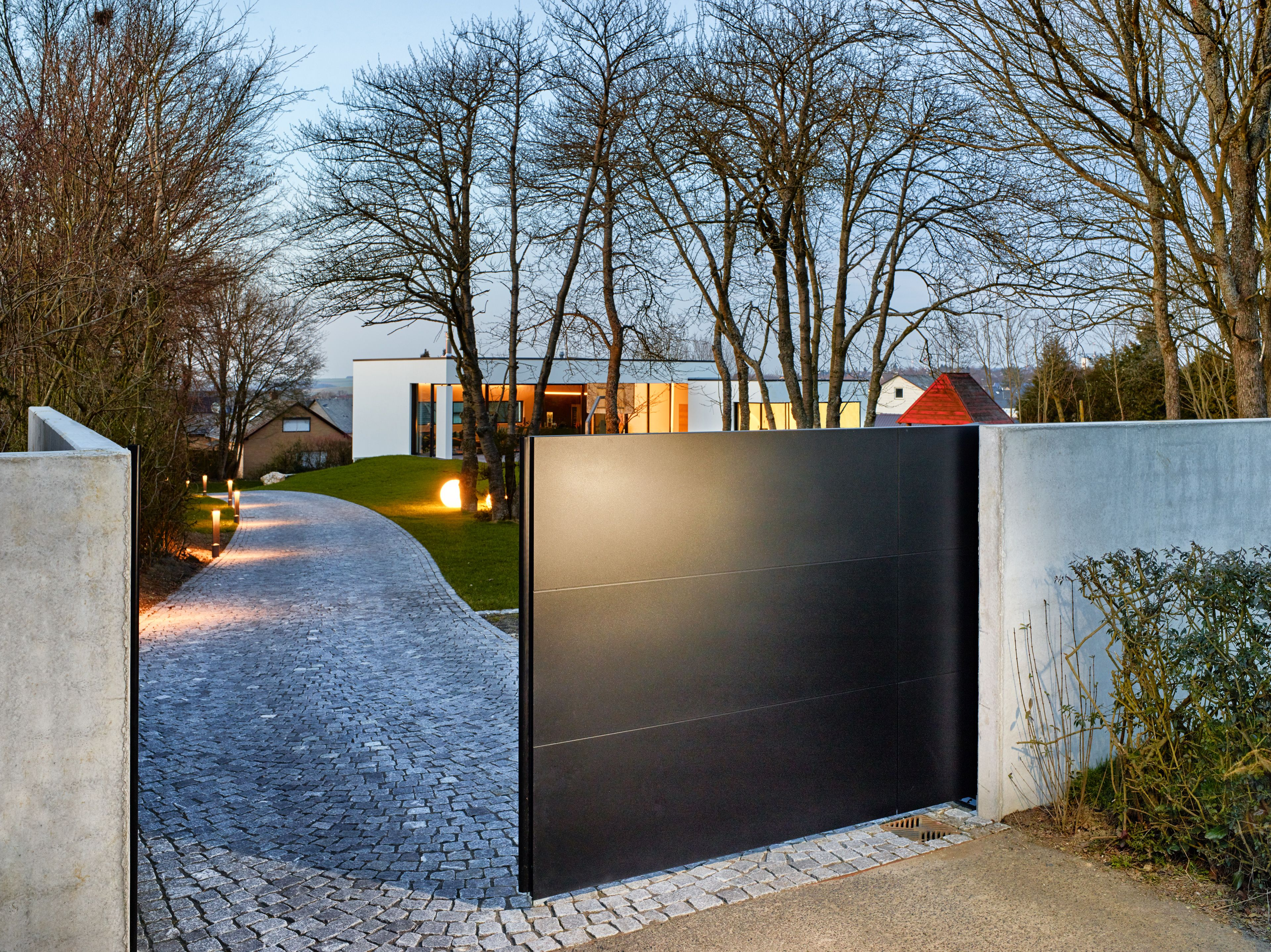 Liebenswert Vorgartengestaltung Modern Das Beste Von Klare Line! 100 Aluminium Puristisches Design Aus