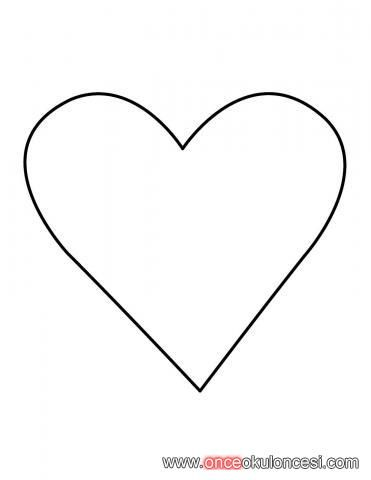 Kalp Boyama Kalibi Ile Ilgili Gorsel Sonucu Kalp Deniz Kizlari