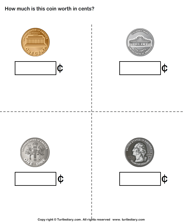 Name And Value Of Coins Money Id 1st Coin Values