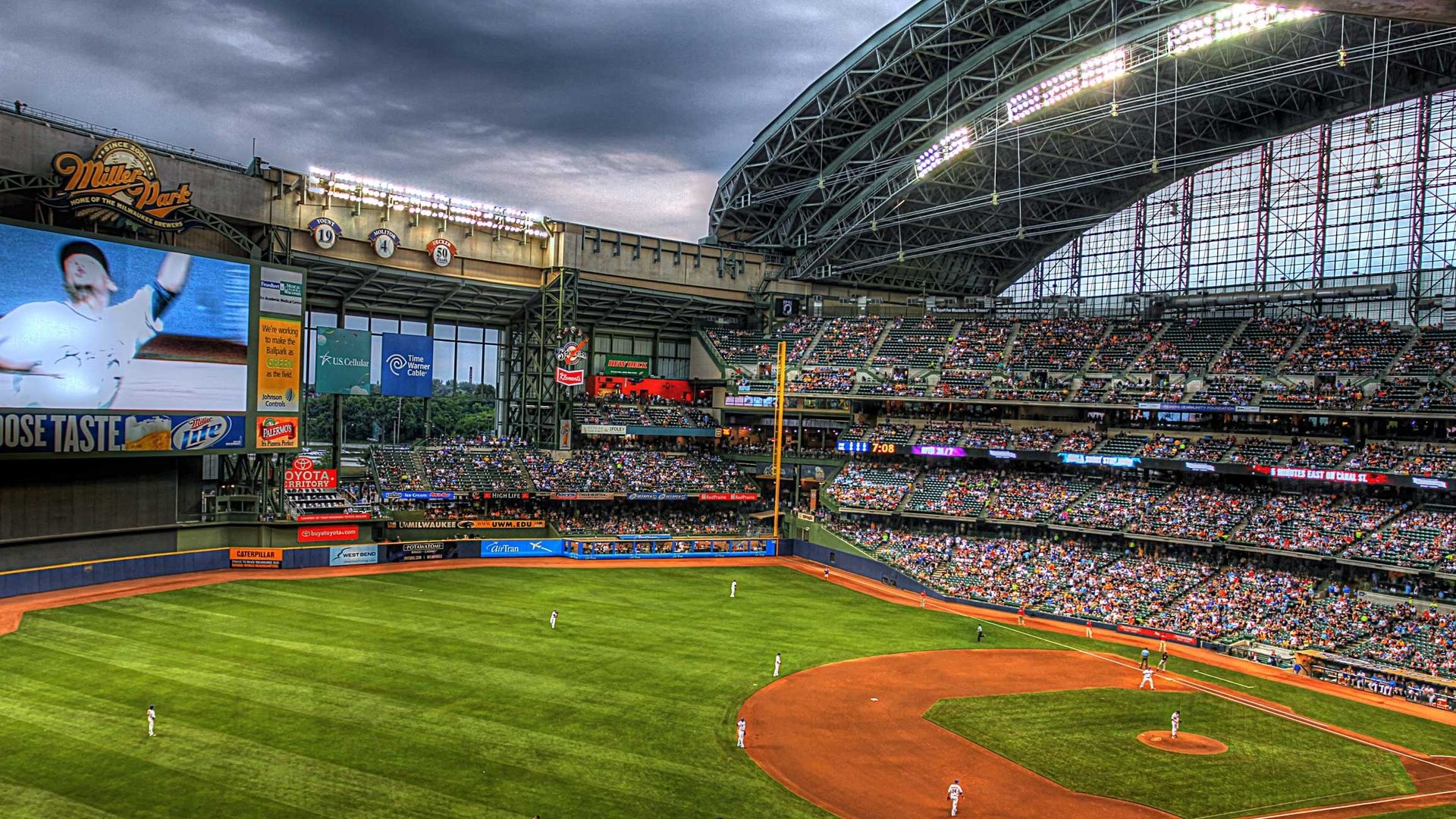 Baseball Mlb Colorado Rockies Stadium Sports 1920x1080 Desktop Wallpaper