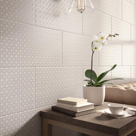 Laura Ashley Finsbury White Wall Tiles 248 X 498mm La51904 Laura Ashley Tiles White Wall Tiles Laura Ashley Wall Tiles