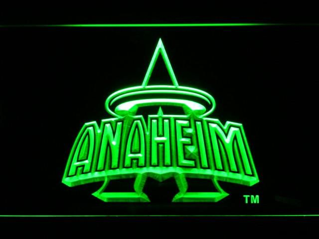 Neon Signs Los Angeles Los Angeles Angels Of Anaheim 19972001 Anaheim Halo Logo Led Neon