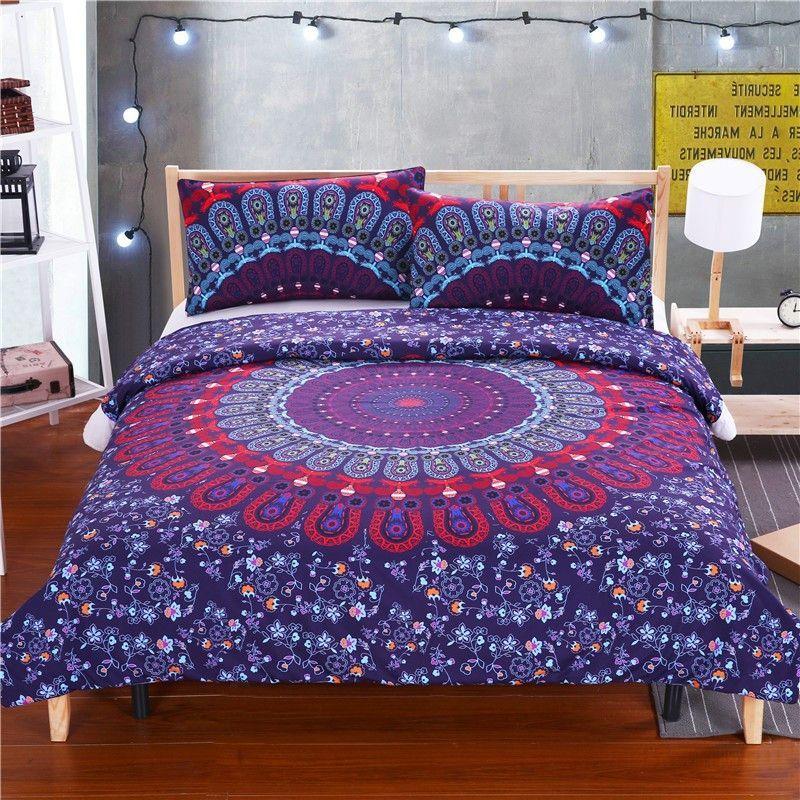 Luxurious Cosmic Spirit Mandala Bedding Set Duvet Bedding Sets