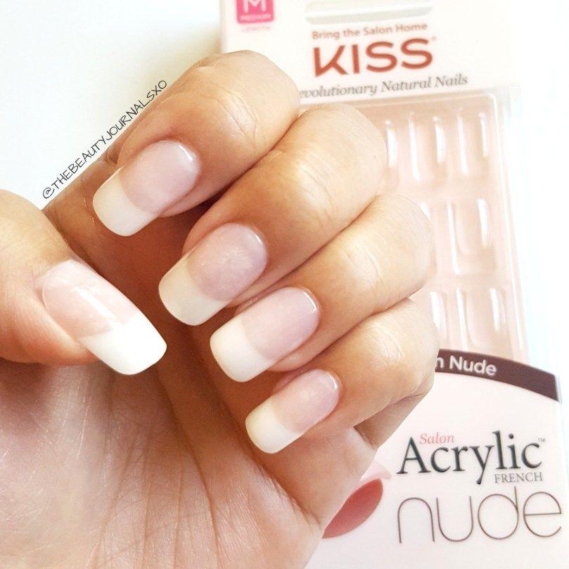 Kiss Salon Acrylic Natural Nails Strong Enough In 2020 Natural Nails Artificial Nails Acrylic Nails