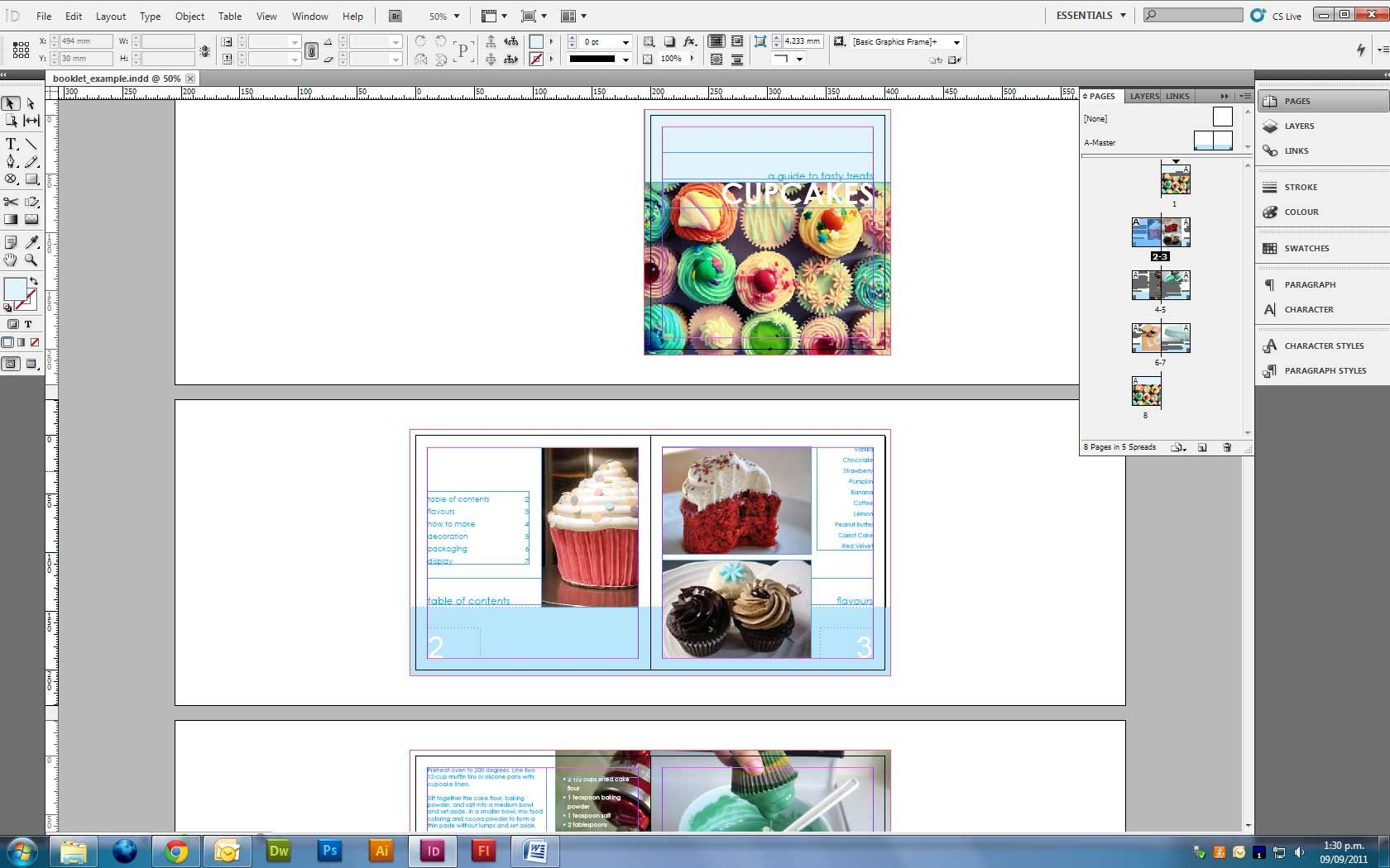 How To Get Page Numbering To Start Where You Want It In Indesign Cs5