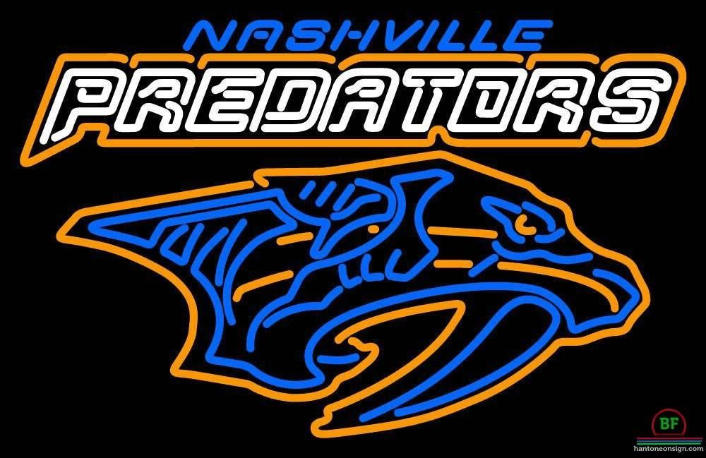 Nashville Predators Neon Sign NHL Teams Neon Light