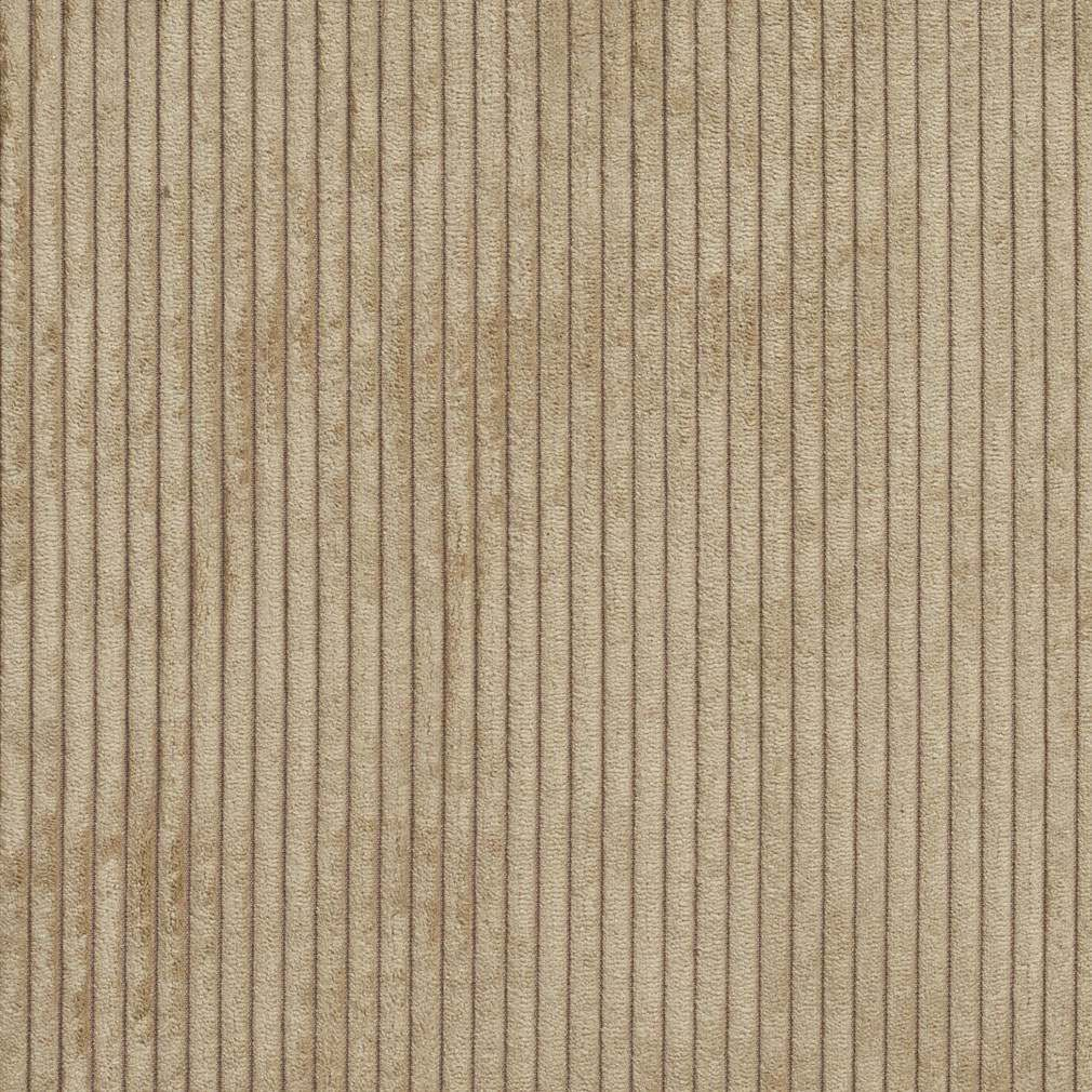 B0700k Taupe Corduroy Striped Soft Velvet Upholstery Fabric