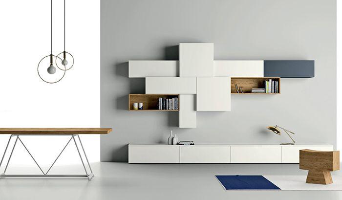 Nuvola: Wandmeubel op maat voorbeelden | Interieur inspiratie ...