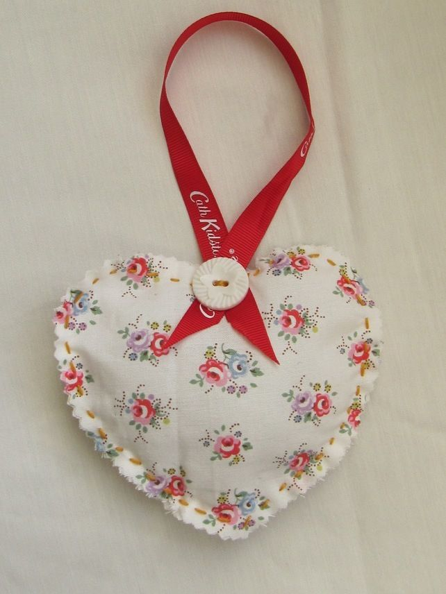 Cath Kidston Sprig Fabric Door or Drawer Hanger £4.00 Lovely Christmas stocking filler!  Available on sewmoira at Folksy.com      Only £4