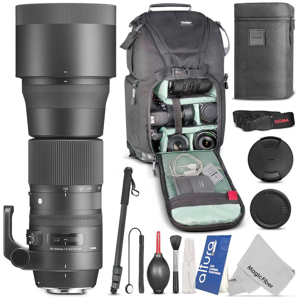 Sigma 150 600mm F 5 6 3 Dg Os Hsm Contemporary Lens For Nikon Dslr Camera Accessories Nikon Camera Lenses Canon Canon Lens