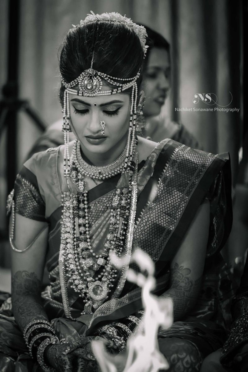An exquisite maharashtrian wedding celebration with breathtaking