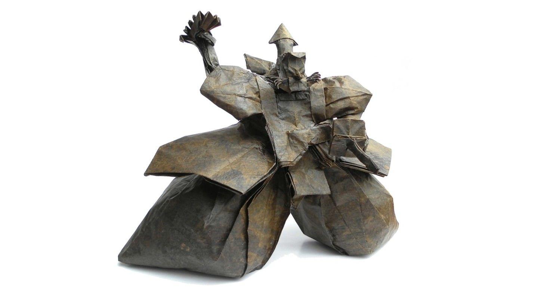 Photo of Amazing Origami Models from Japanese Culture and Mythology