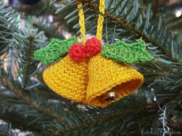Weihnachtsschmuck häkeln - Basteln und Gutes tun 2017