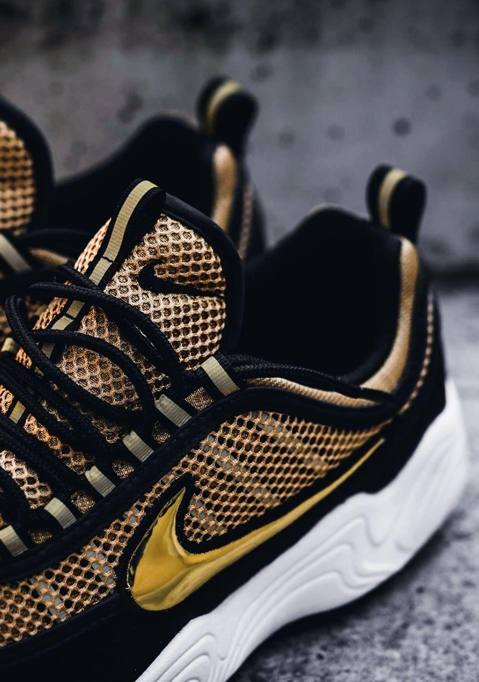chaussures de sport de18e d4fed NikeLab Air Zoom Spiridon 'Metallic Gold/Black ...