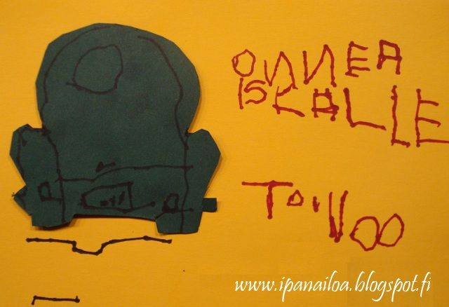 askartelua: isänpäivä, autokortti  http://ipanaaskartelua.blogspot.fi/2011/11/isanpaivakortti.html