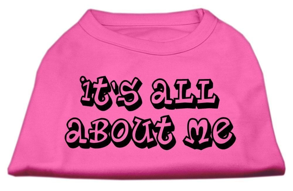It's All About Me Screen Print Shirts Bright Pink Xxl (18)