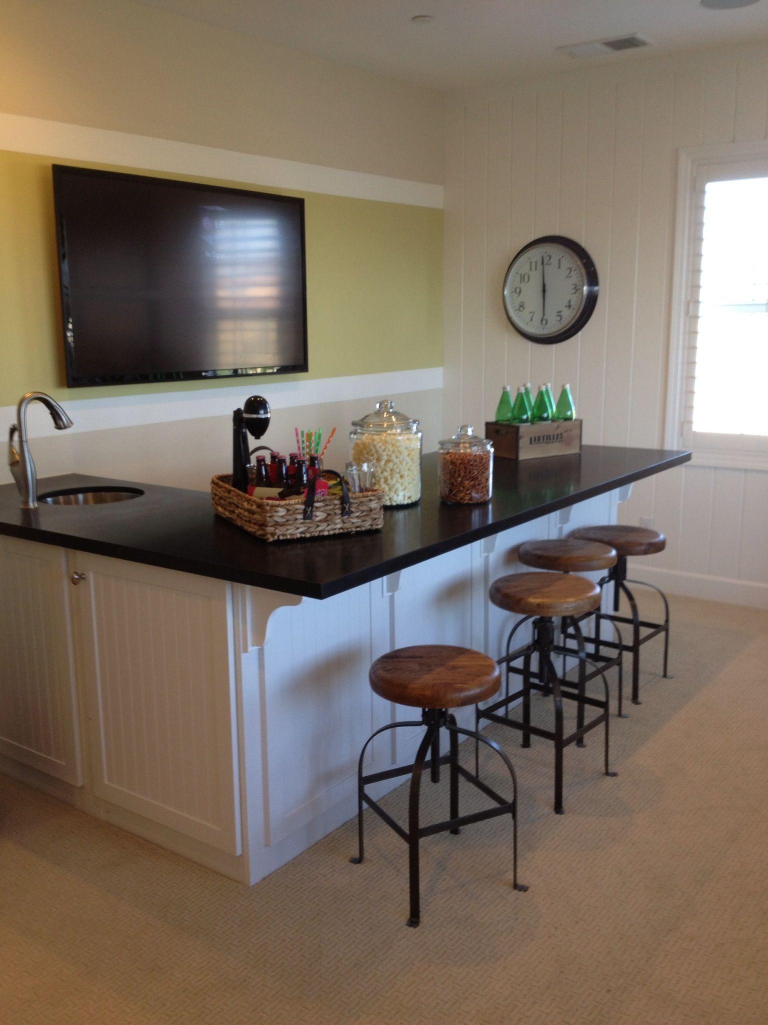 Basement Game Room Designs: Game Room Bar, Kitchen Bar