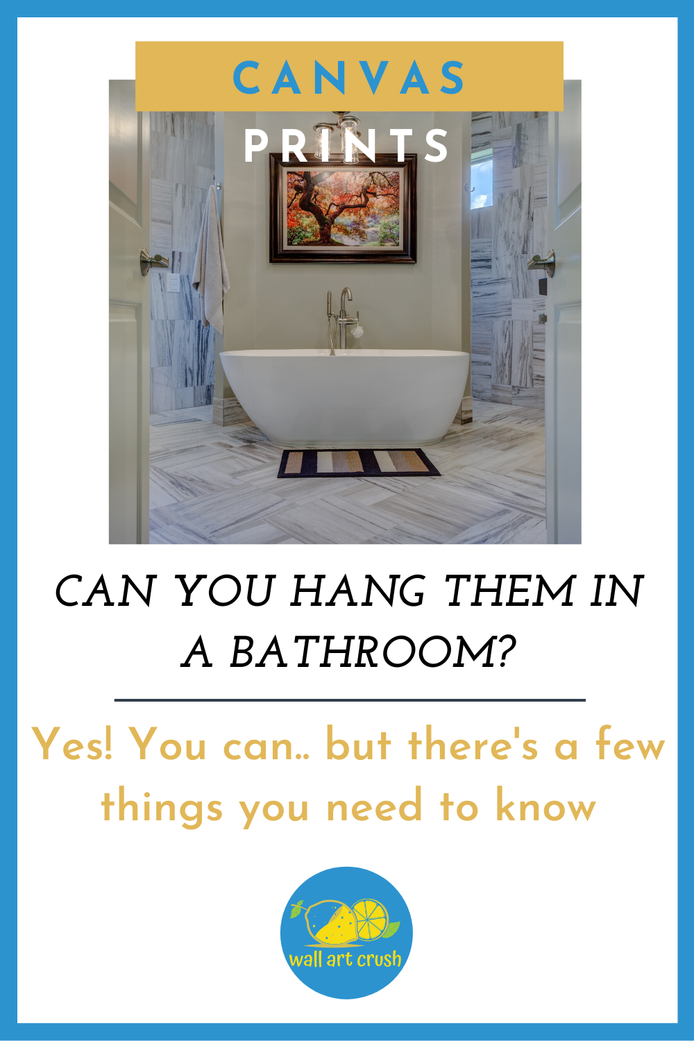 Hanging Canvas Prints In Your Bathroom Canvas Prints Hanging Canvas Prints