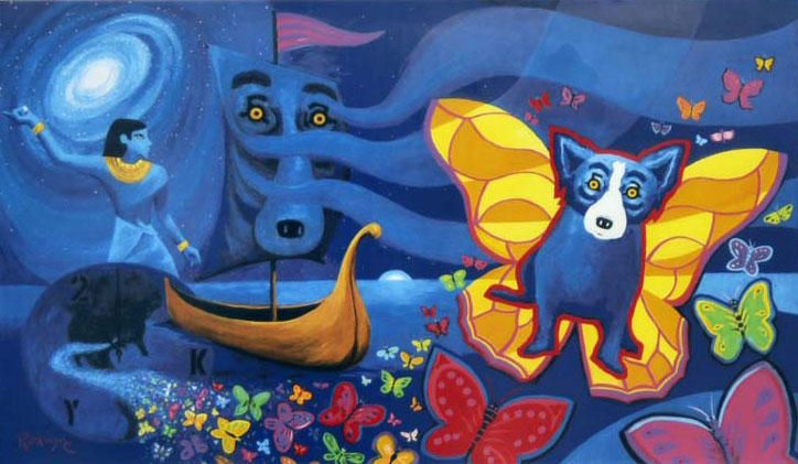 Blue Dog by George Rodrigue