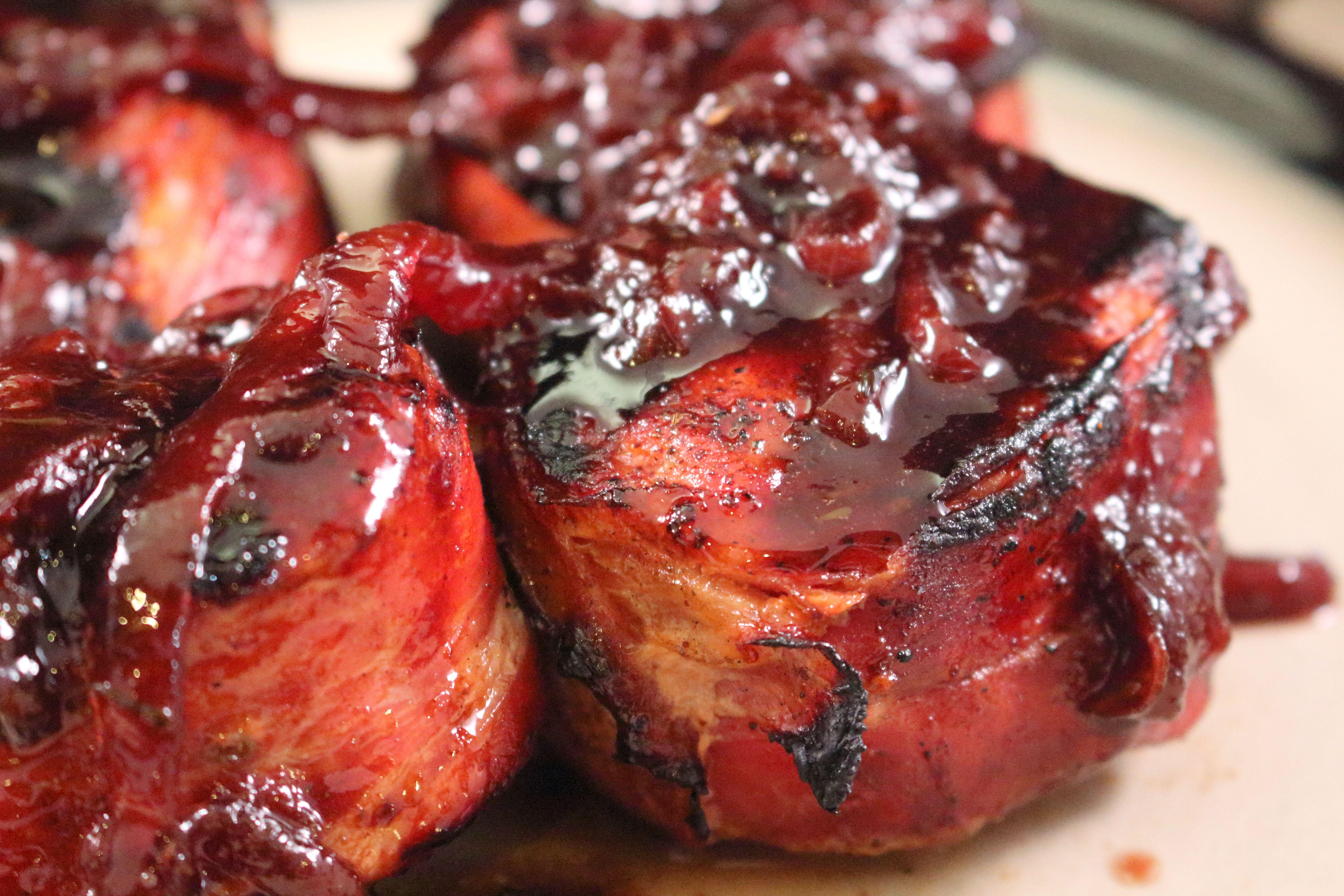 Prosciutto Wrapped Pork Tenderloin Supper Plate Enjoy Delicious Dinners On A Budget Fig Port Wine Sauce Recipe Pork Carrabbas Recipes Pork Medallions