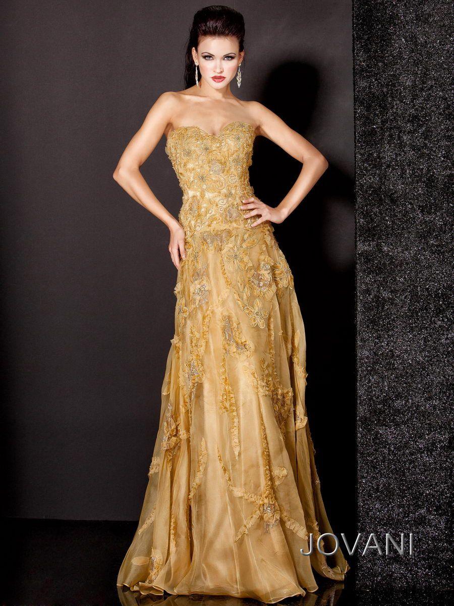 Jovani Evening Dresses   Evening Dresses Styles   Pinterest   Gold ...