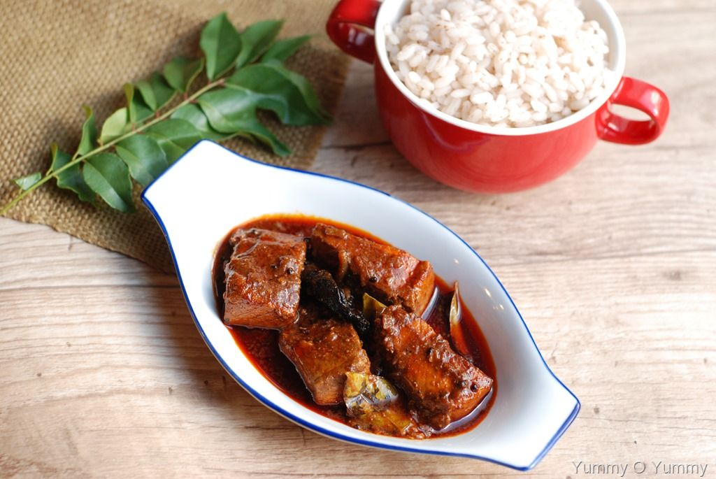Meen Vattichathu / Spicy Fish Curry (With images) Fish