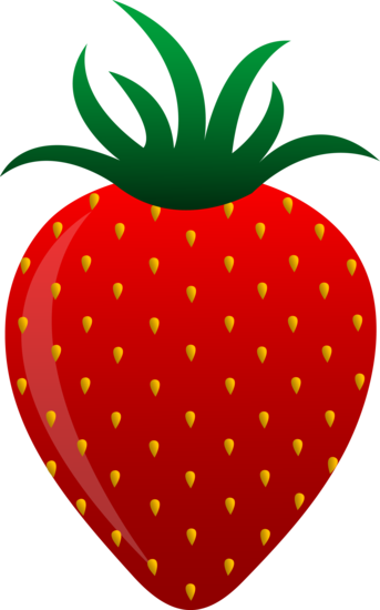 free clip art of a sweet red strawberry sweet clip art pinterest rh pinterest co uk free fruit clipart border free clipart fruit of the spirit