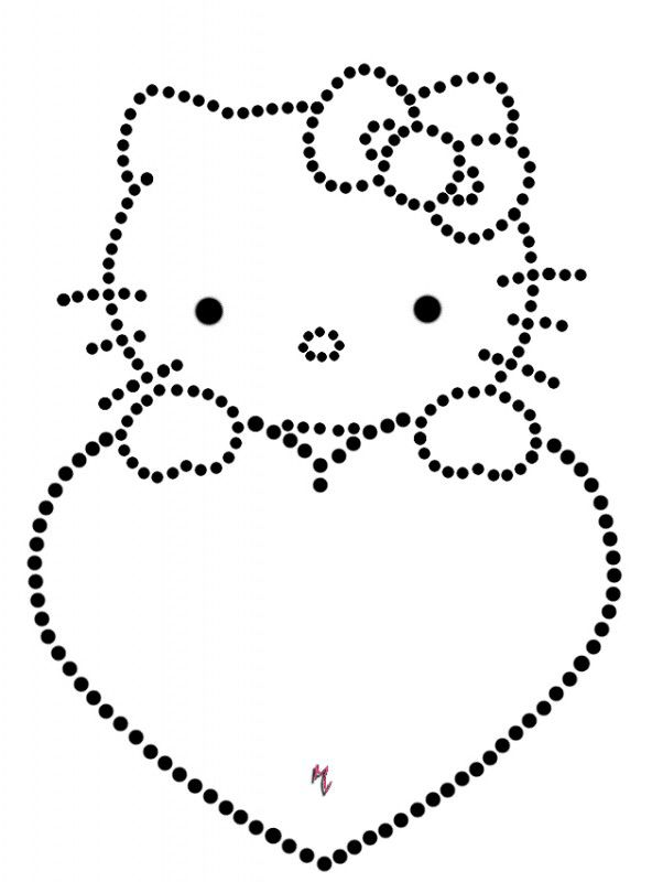 Hello kitty … | стразы | Pinterest | Prickeln, Vorlagen und ...